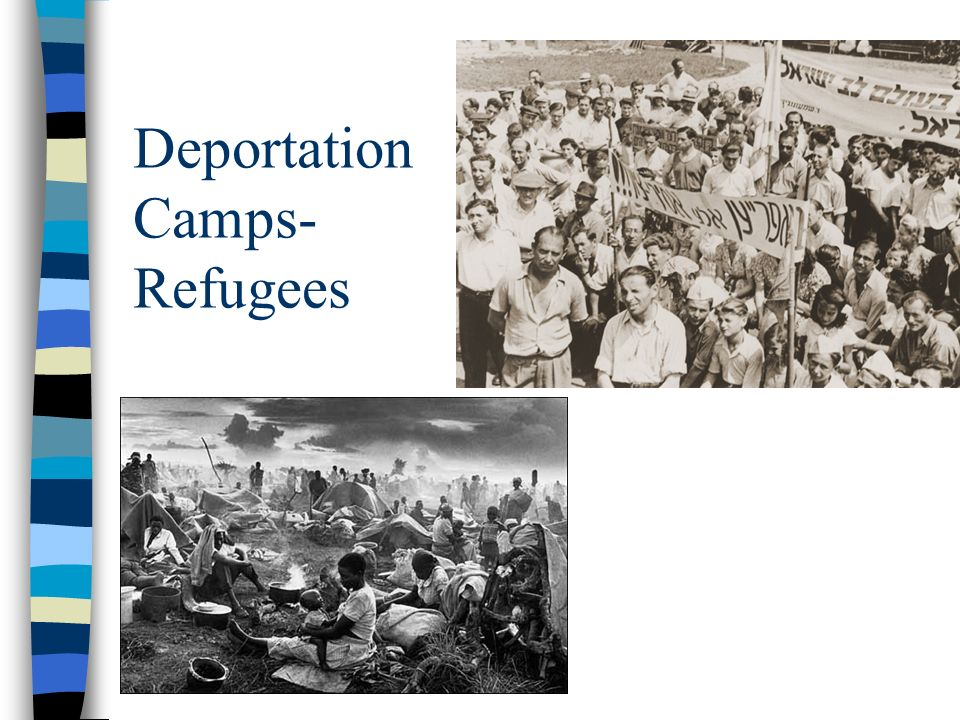 Deportation Camps- Refugees