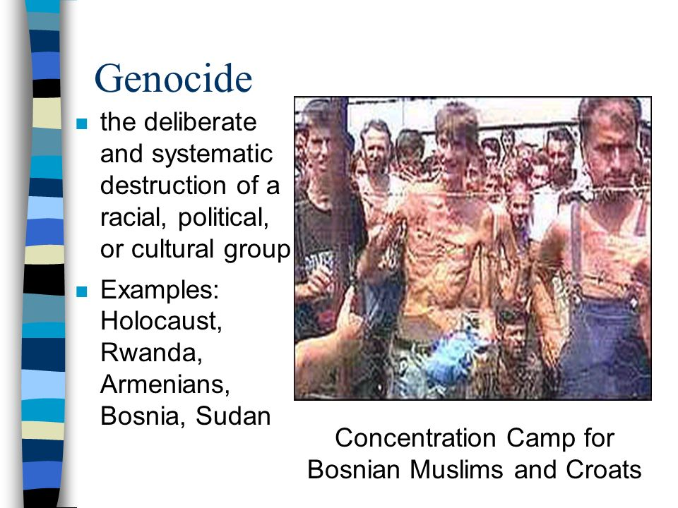 Concentration Camp for Bosnian Muslims and Croats