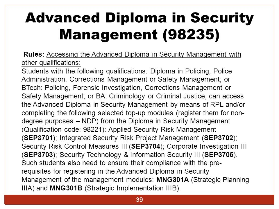 management and advanced diploma New pricing structure for qualification resources we wish to advise you of the following you now have two options for each of the qualification resources.
