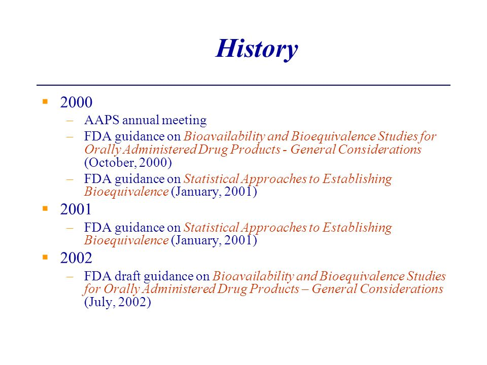 History 2000 2001 2002 AAPS annual meeting