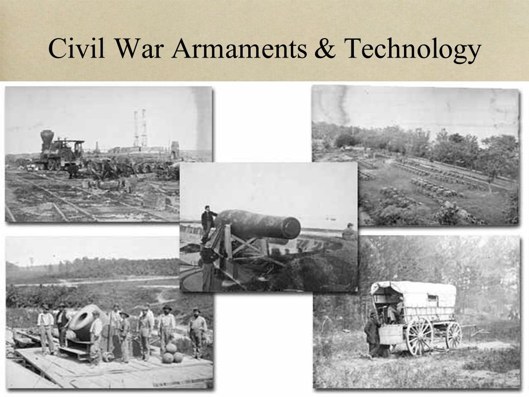 Civil War Armaments & Technology