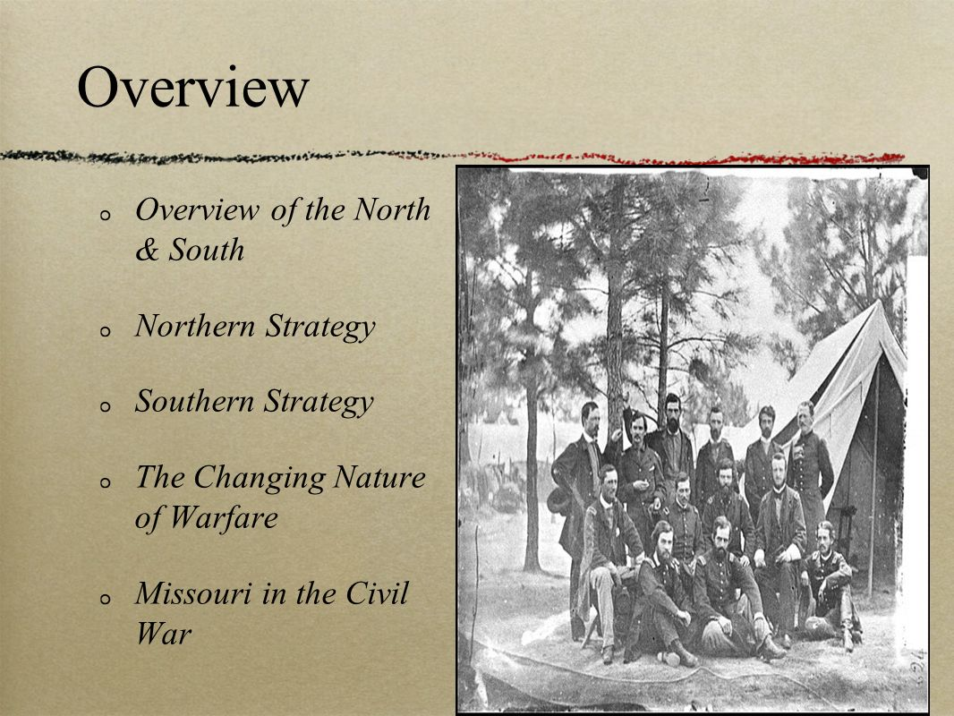 Overview Overview of the North & South Northern Strategy