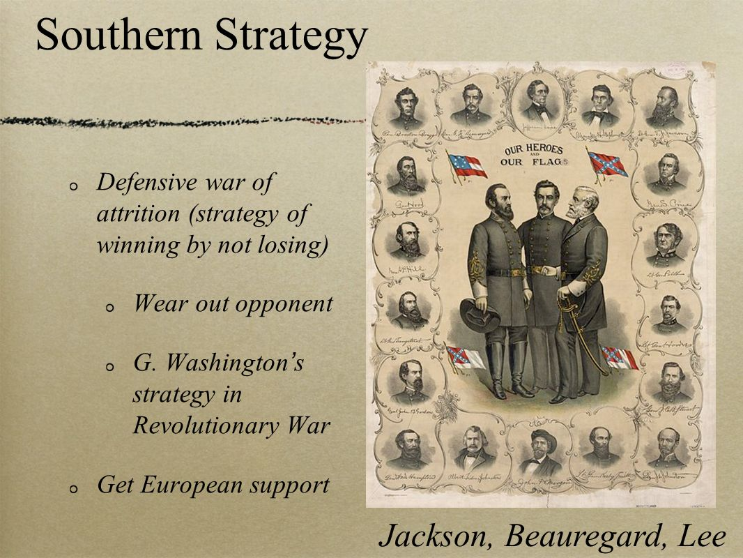 Jackson, Beauregard, Lee