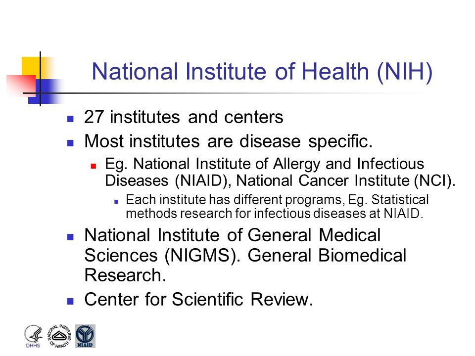 National Institute of Health (NIH)