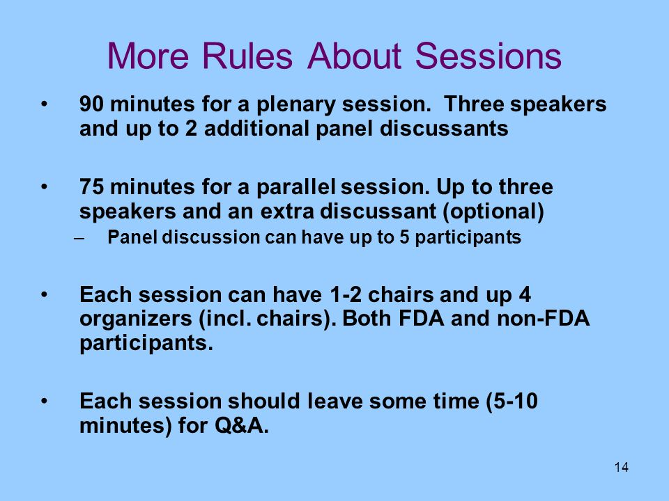 More Rules About Sessions