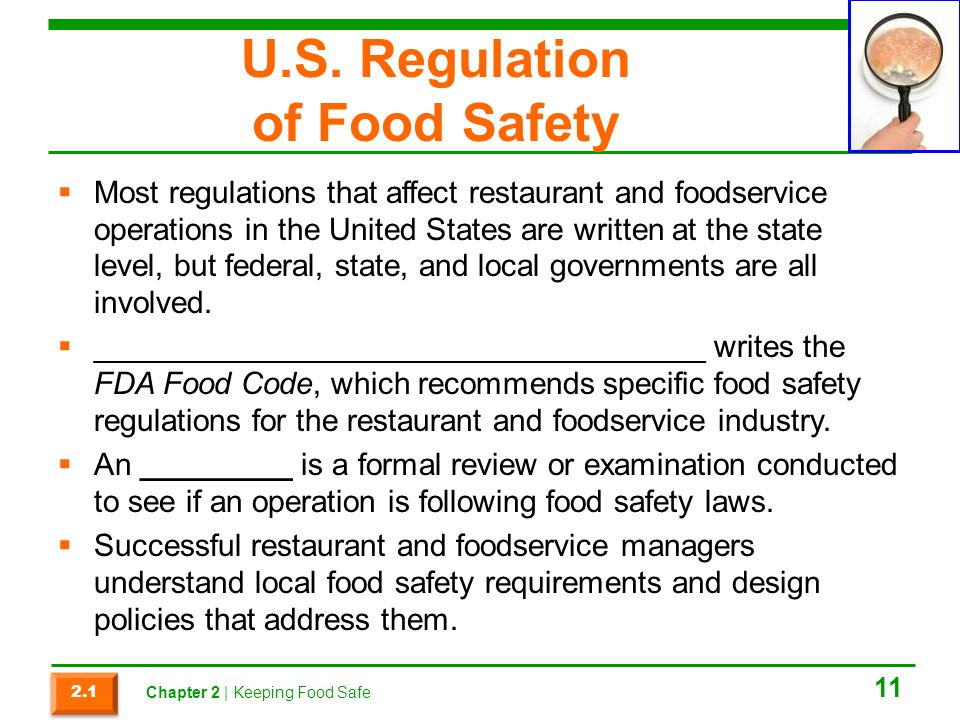 the safety of the food in the united states English and spanish child care food safety for child care workers and parents.