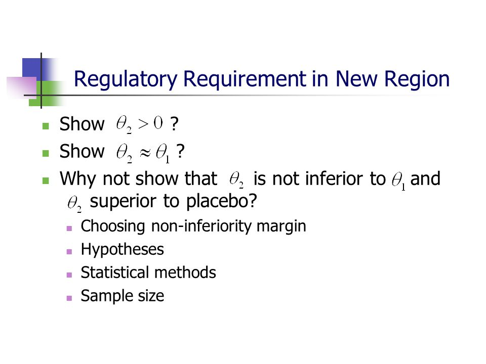 Regulatory Requirement in New Region