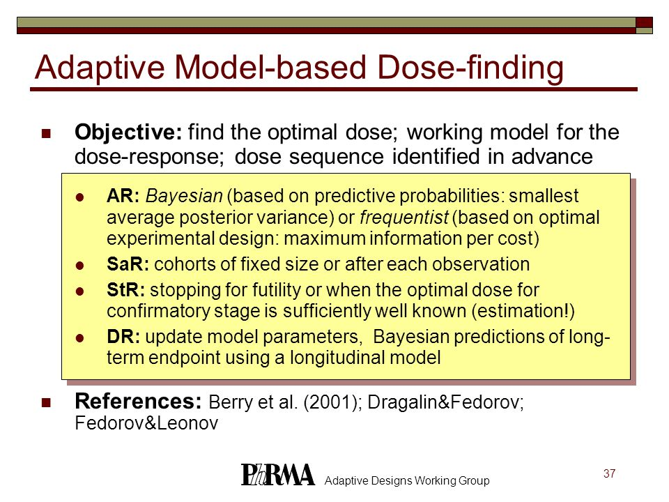Adaptive Model-based Dose-finding