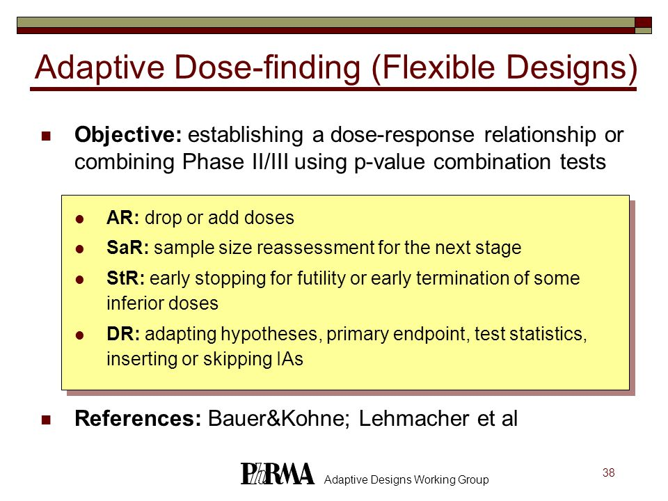 Adaptive Dose-finding (Flexible Designs)