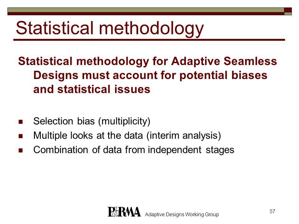 Statistical methodology