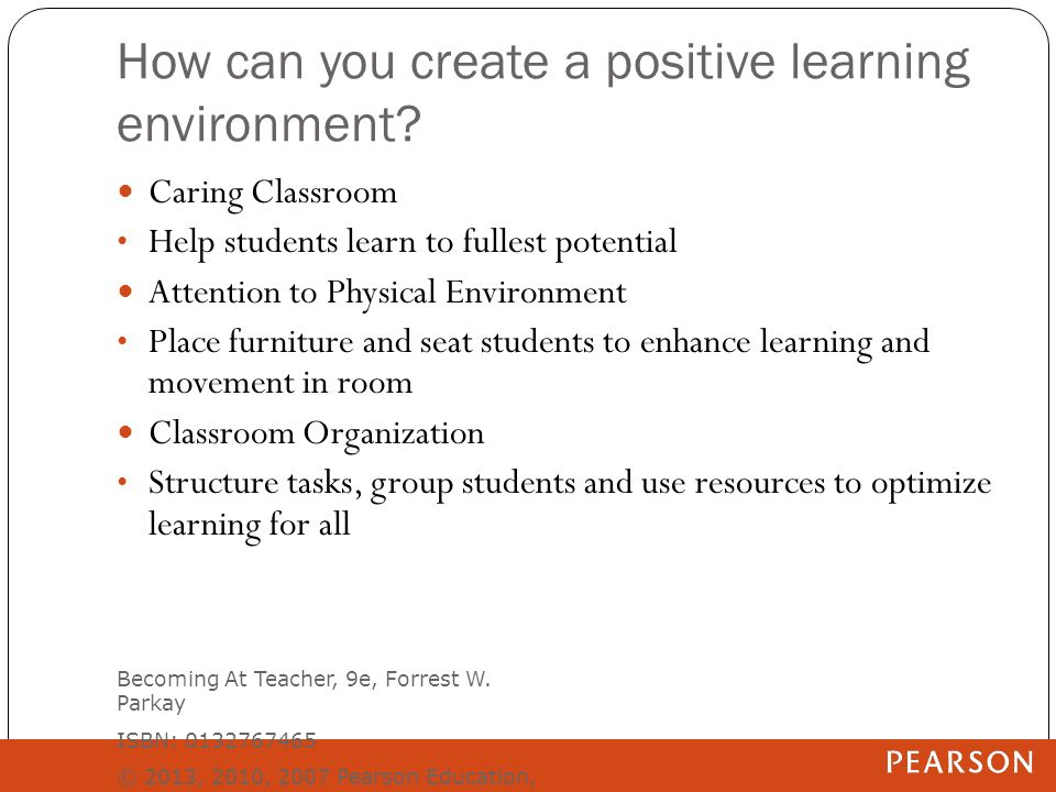 how to creating a positive atmosphere Creating inclusive college classrooms  are successful in creating inclusive classrooms,  creating a positive learning experience for these students can be.