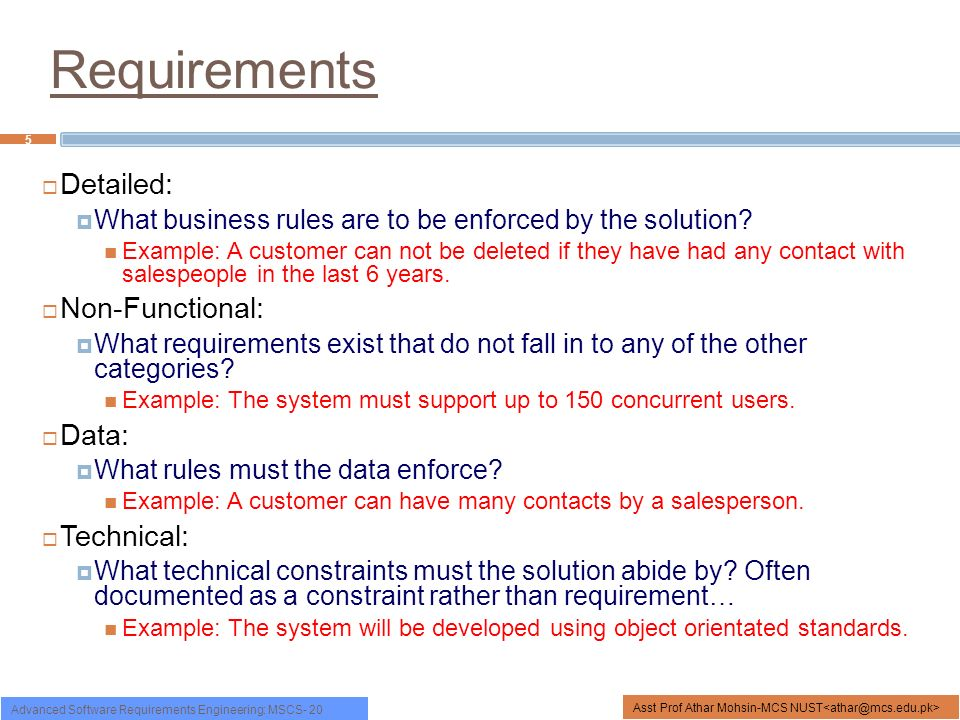 Functional non functional requirements ppt video online download 5 requirements wajeb Image collections