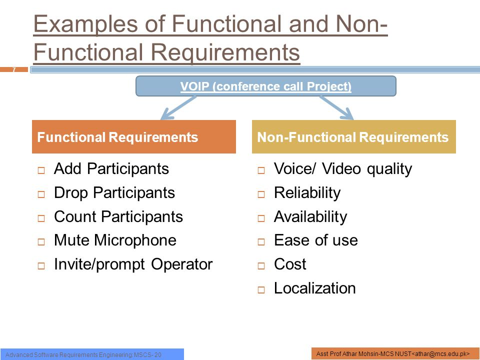 Functional And Non Functional Requirements Research Paper Service