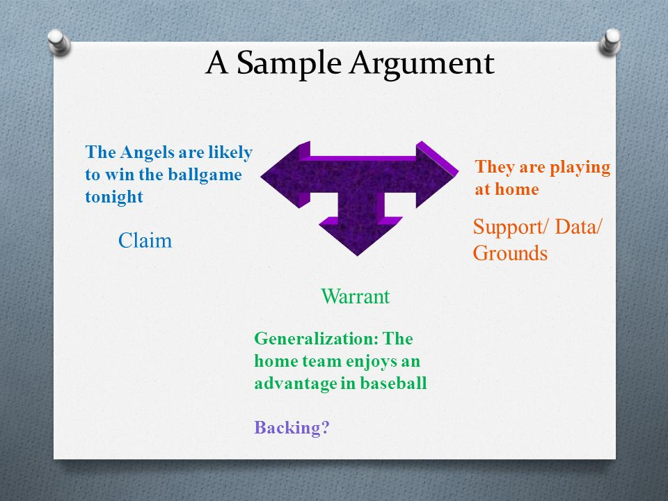 A Tool for Understanding Argument - ppt video online download