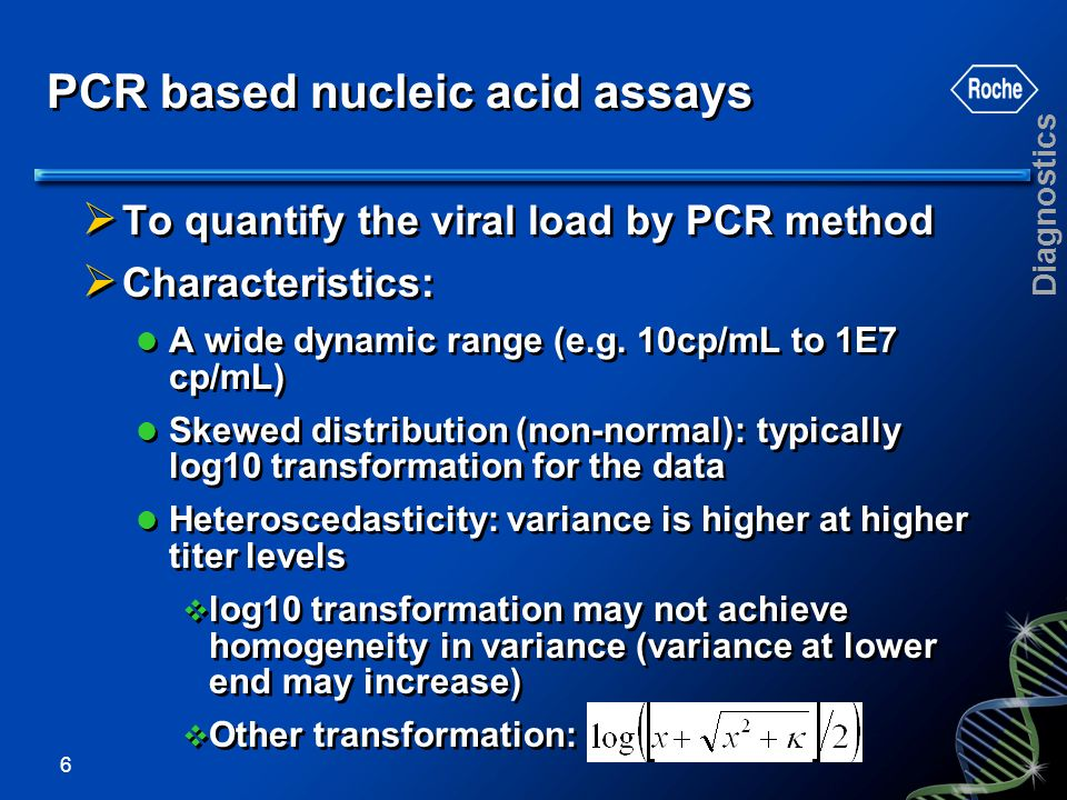 PCR based nucleic acid assays