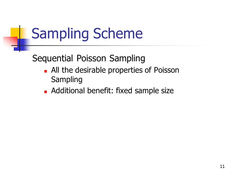 Sampling Scheme Sequential Poisson Sampling