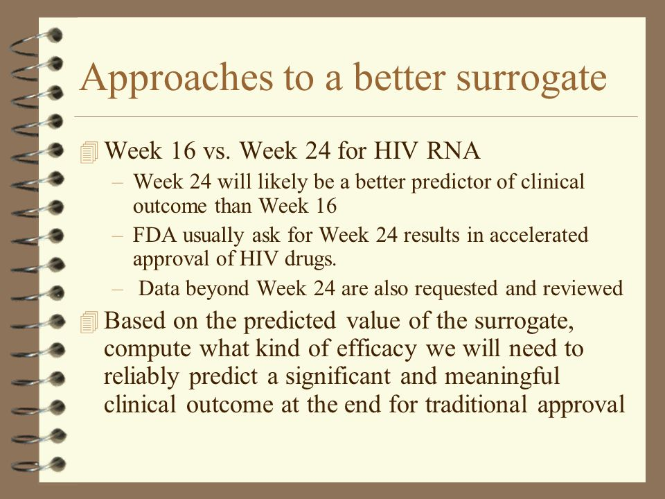 Approaches to a better surrogate