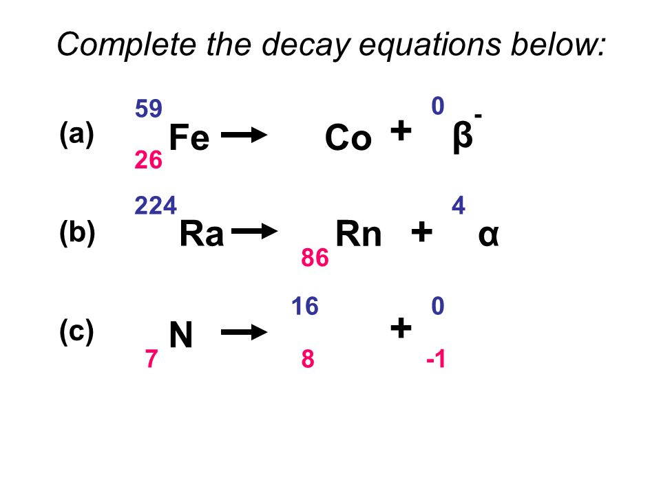 Alpha Decay Alpha Particles Consist Of Two Protons Plus