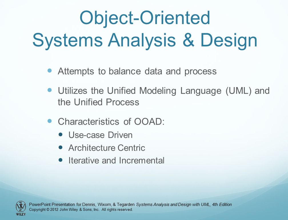 Object Oriented System