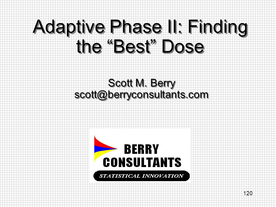 Adaptive Phase II: Finding the Best Dose