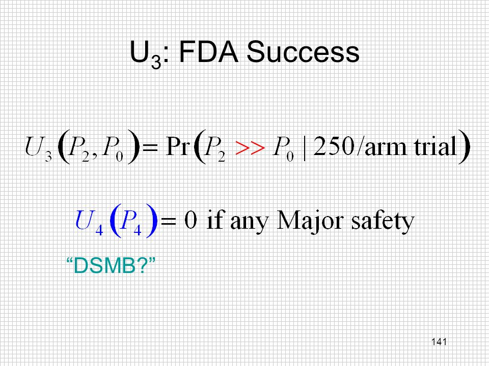 U3: FDA Success DSMB