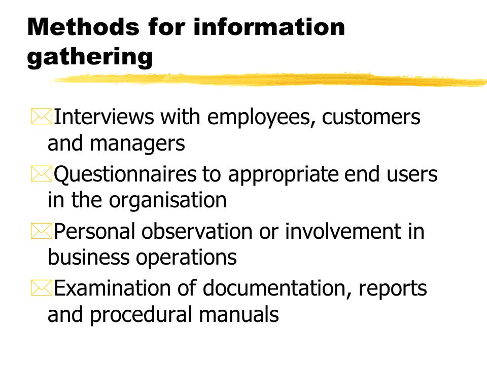 """data gathering techniques payroll system Work involves providing support for payroll systems gathering acts as the """"payroll system administrator"""" for of payroll process, systems analysis, data."""