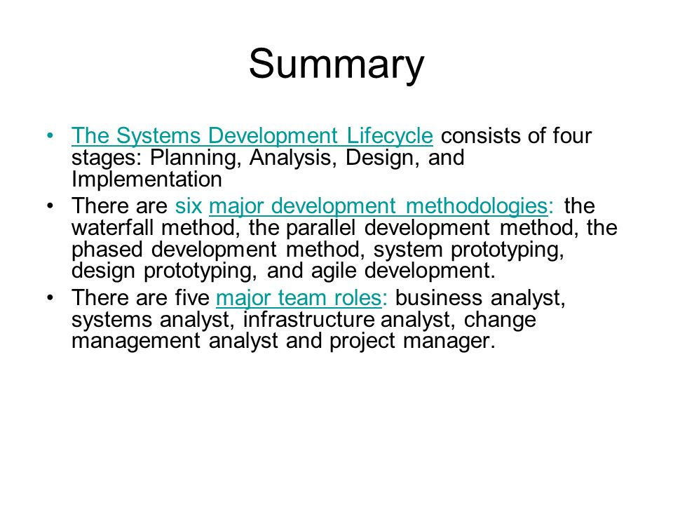 Systems Analysis And Design Ppt Download