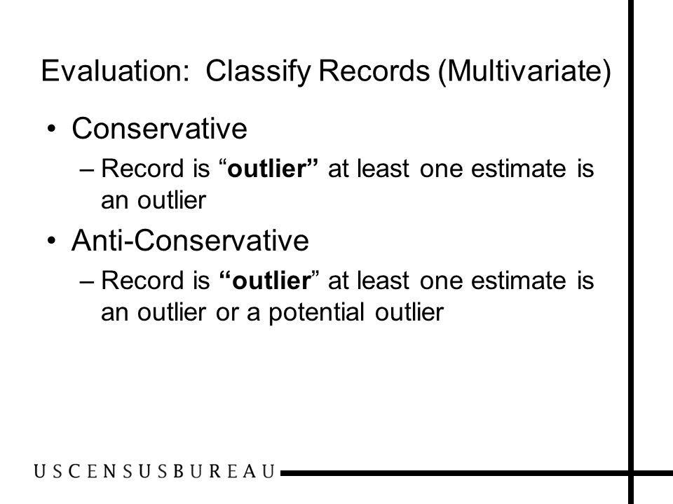Evaluation: Classify Records (Multivariate)