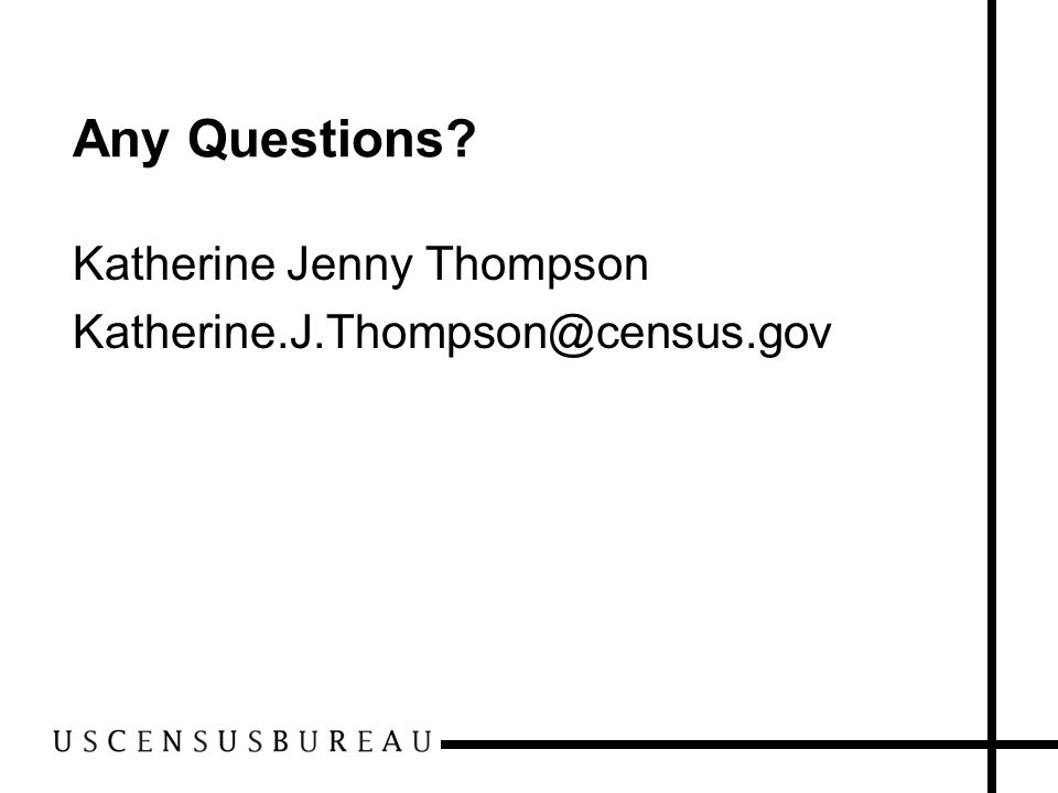 Any Questions Katherine Jenny Thompson