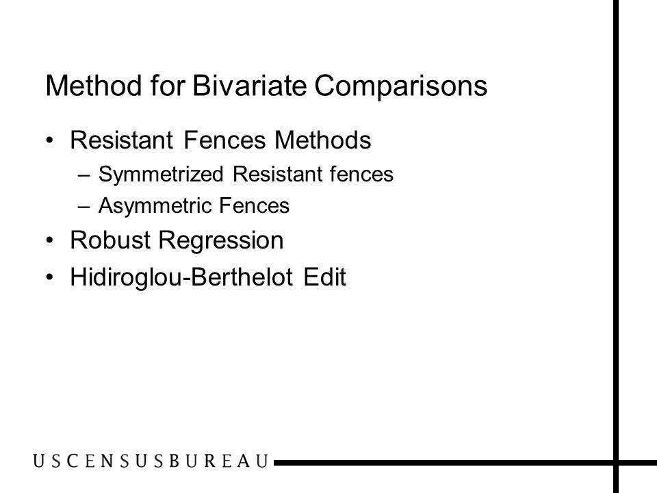 Method for Bivariate Comparisons
