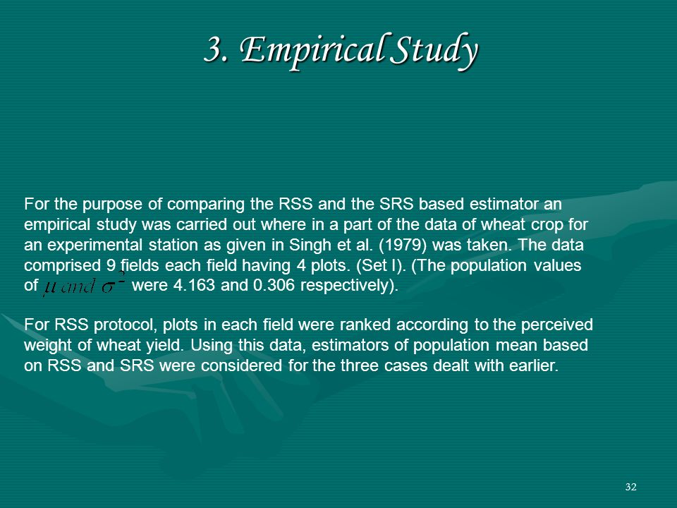 3. Empirical Study