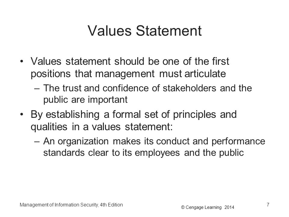 the value of public statements of A public relations statement is short and to the point statements are always written in the first person remember that your statement is public record so select your words carefully if you're unsure about something.