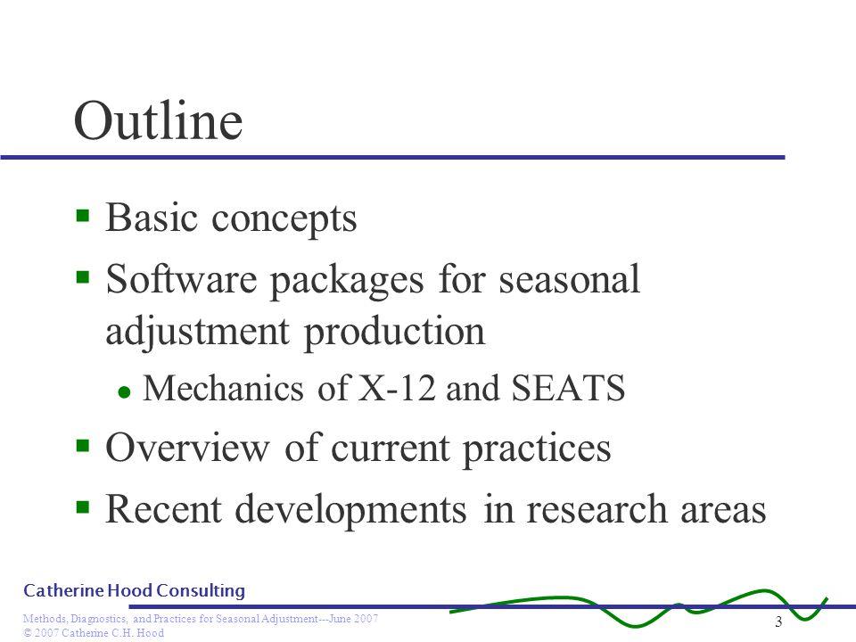 Outline Basic concepts