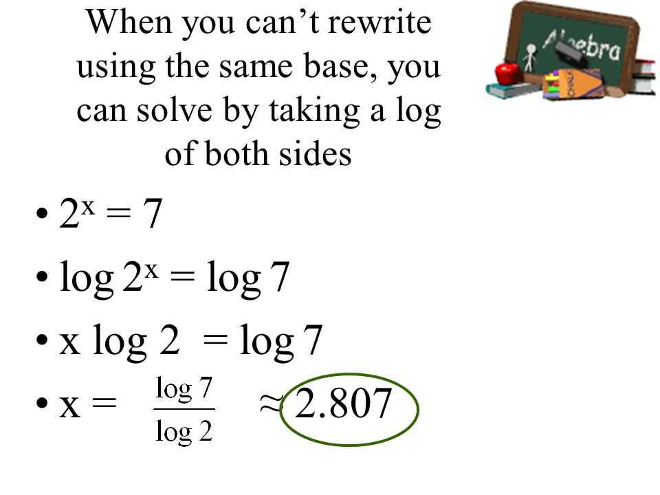 how to solve log within a log