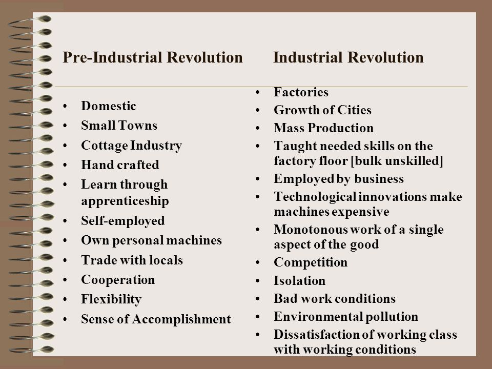 how was the industrial revolution good or bad Read the pros and cons of the debate american industrial revolution, good or bad.