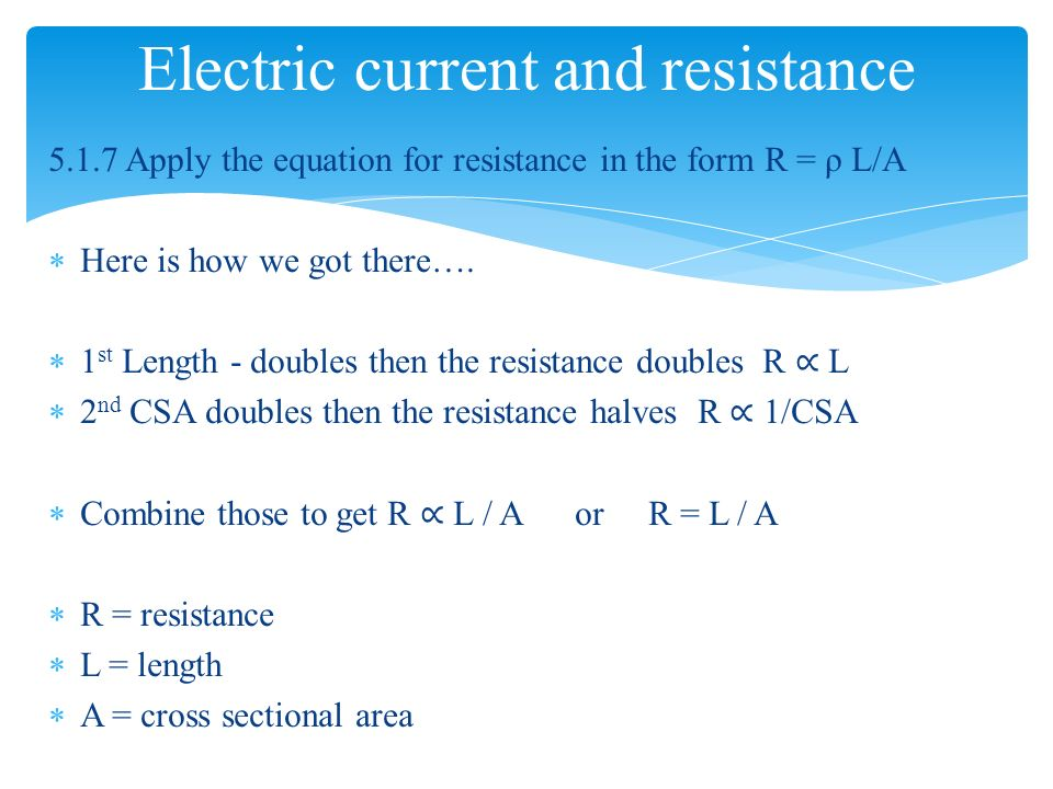 electric current and high resistance In this lesson, we explain the fundamental difference between electric current, voltage, and resistance we begin by explaining that electric current is defined to be the flow of electrons in a circuit path.