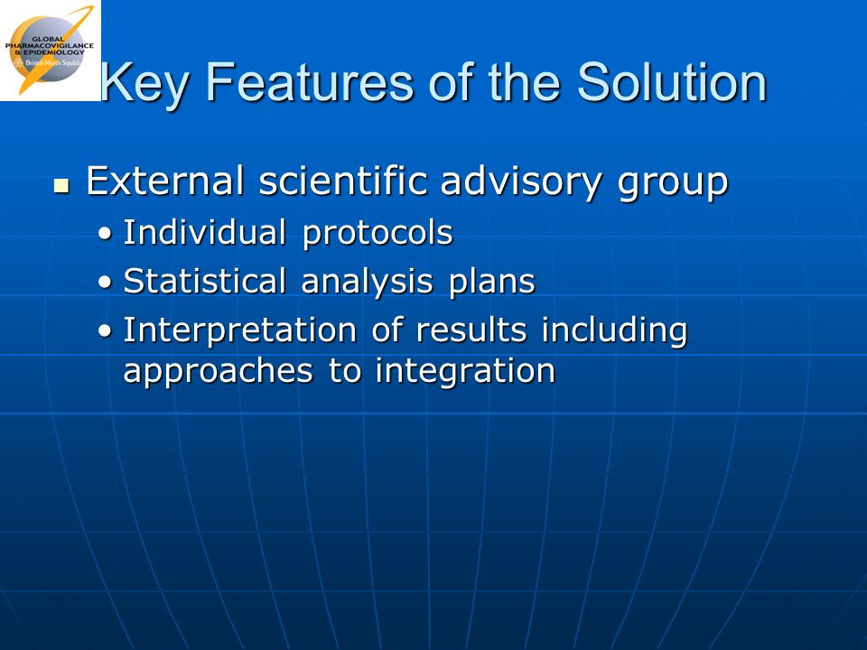 Key Features of the Solution
