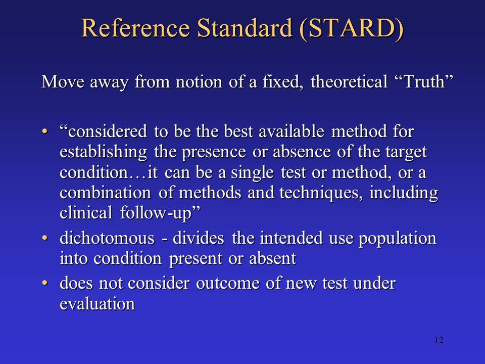 Reference Standard (STARD)
