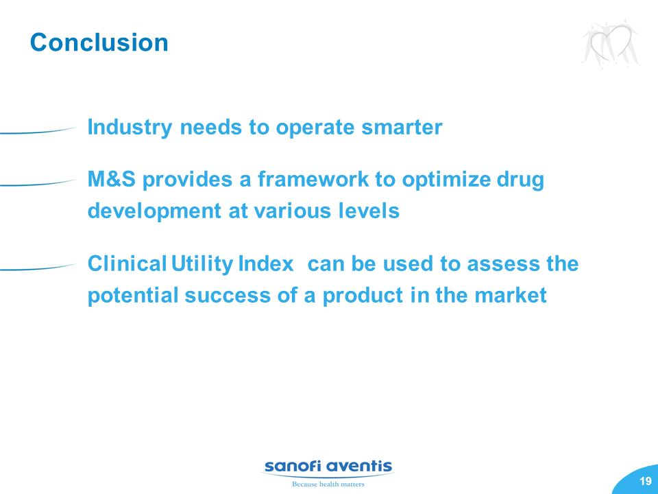 Conclusion Industry needs to operate smarter