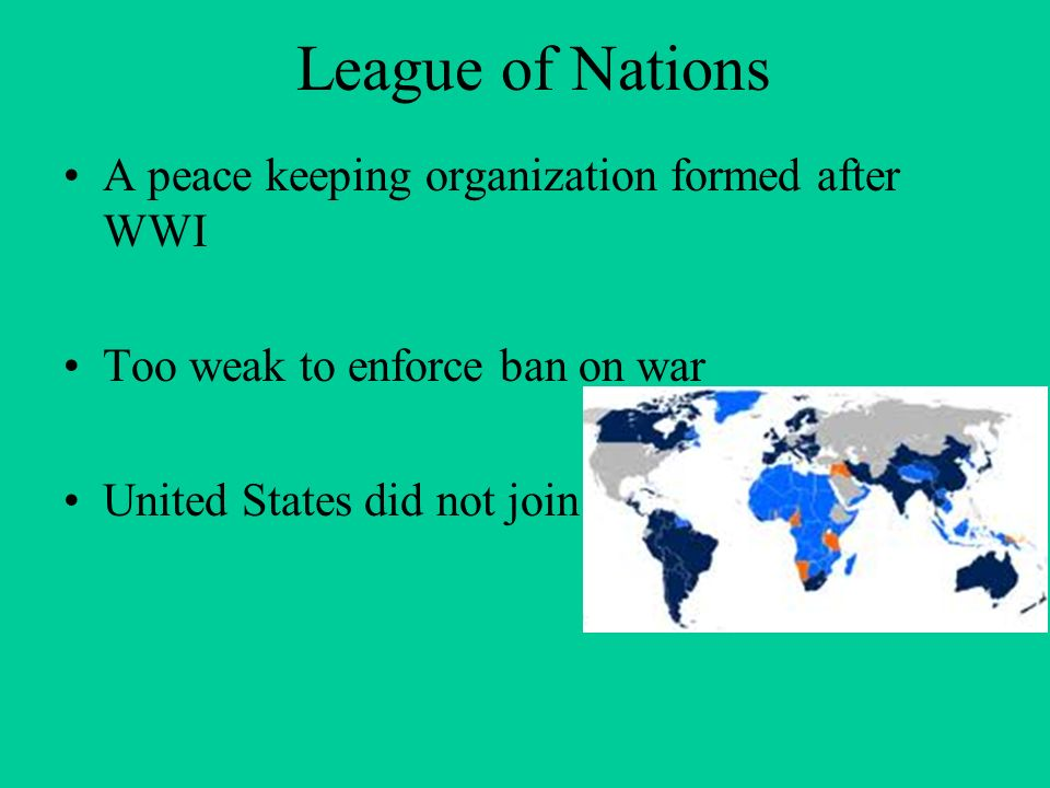 A report on the united nations as a peace keeping organization
