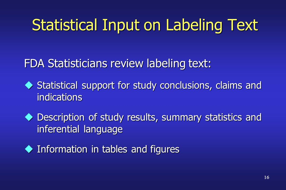 Statistical Input on Labeling Text