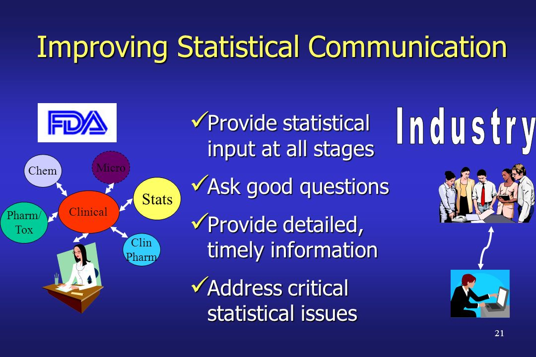 Improving Statistical Communication