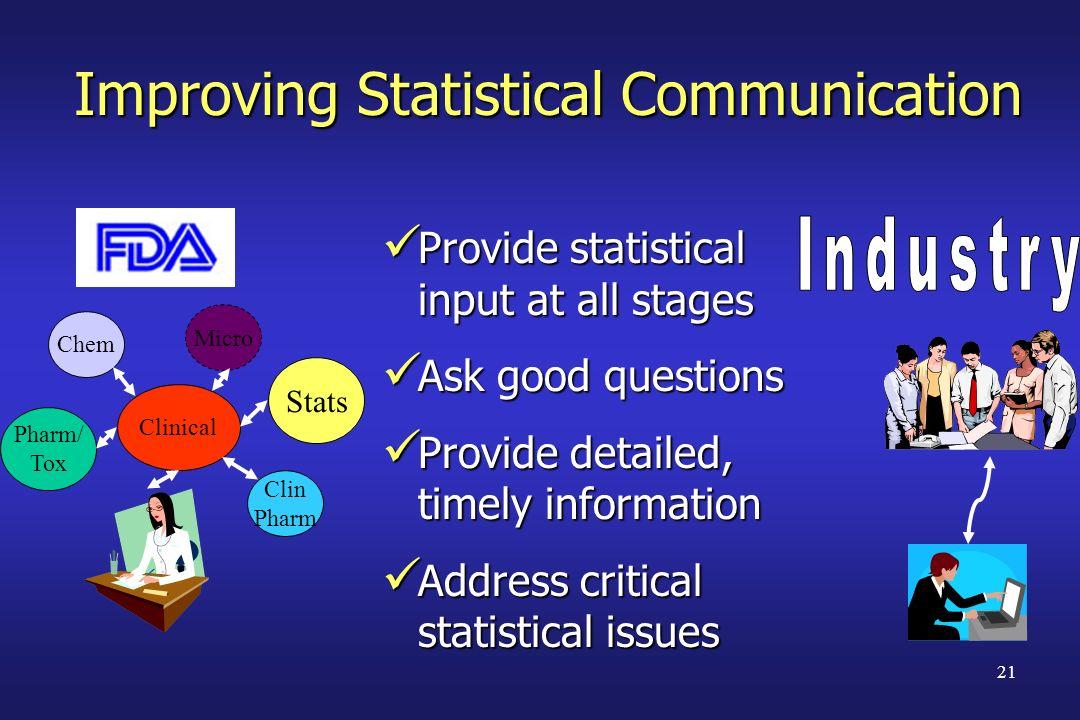 Improving Statistical Communication
