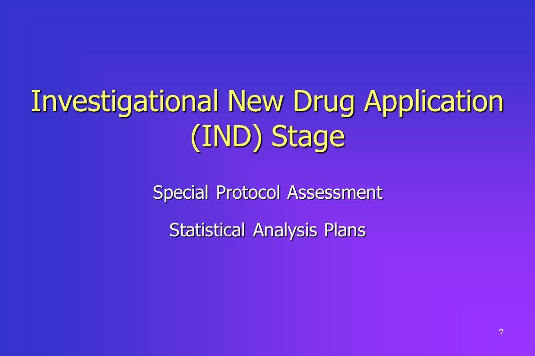 Investigational New Drug Application (IND) Stage