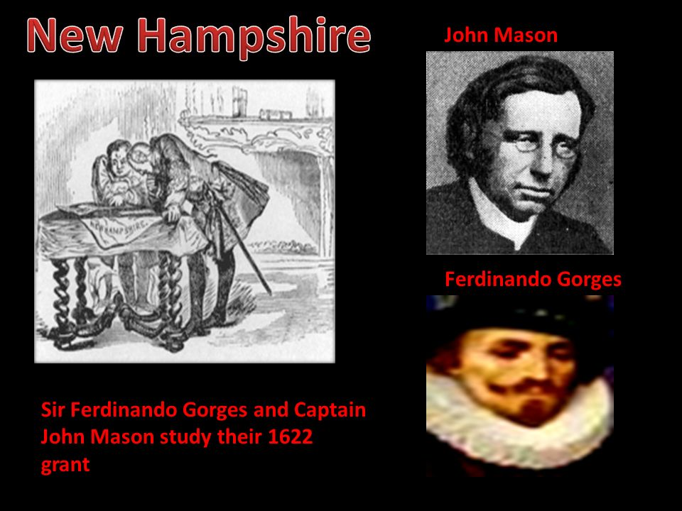 New Hampshire John Mason Ferdinando Gorges