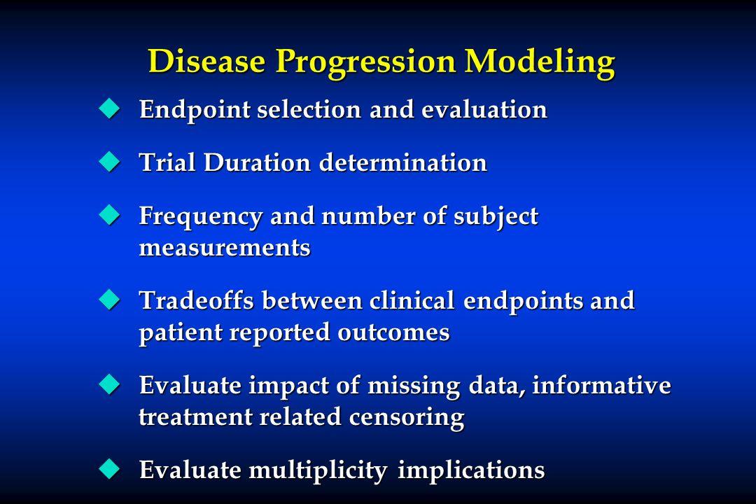 Disease Progression Modeling