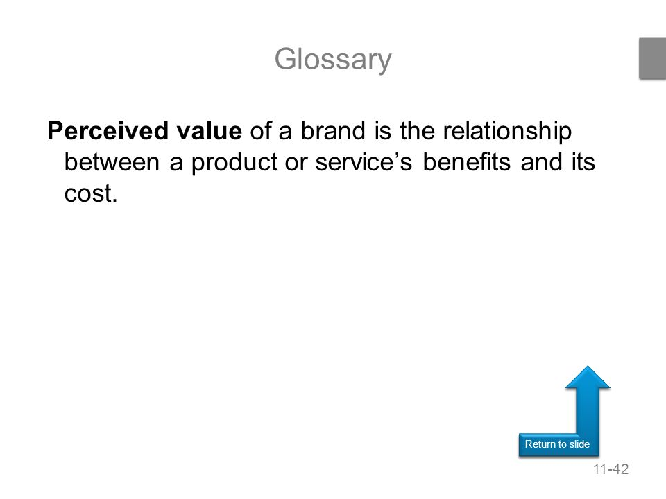 relationship between price cost value analysis