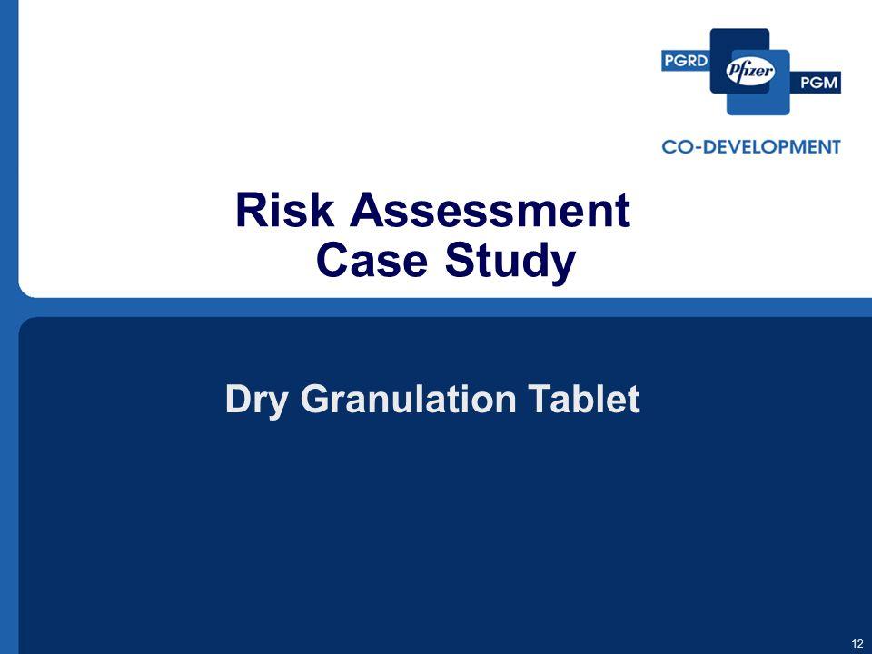 Risk Assessment Case Study