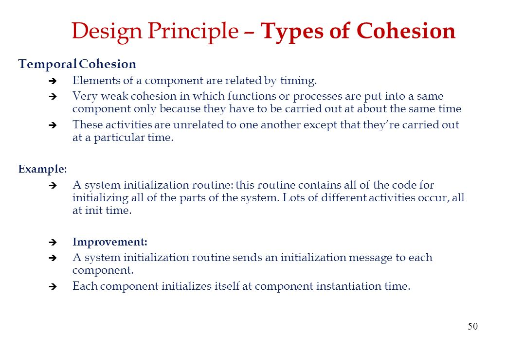 All Of The Following Are Principles Of Design Except : Software design fundamentals principles ppt video