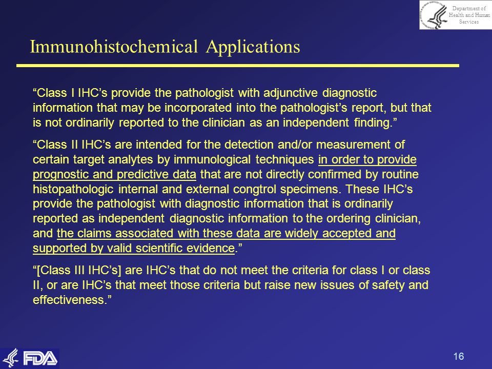 Immunohistochemical Applications